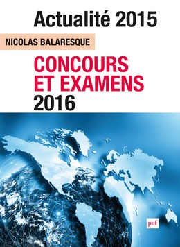Actualité 2015 - Concours et examens 2016