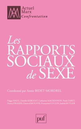 Les rapports sociaux de sexe