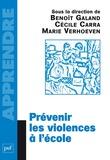 Prévenir les violences à l'école