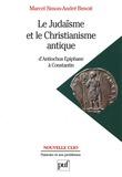 Le judaïsme et le christianisme antique