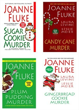 Joanne Fluke Christmas Bundle: Sugar Cookie Murder, Candy Cane Murder, Plum Pudding Murder, & Gingerbread Cookie Murder