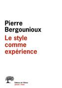 Le Style comme expérience