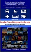 Get Around Photos: Foreign Travel Communication Aid