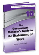 The Government Manager's Guide to the Statement of Work