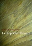 La propriété littéraire