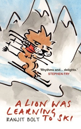Lion Was Learning to Ski