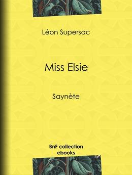 Miss Elsie