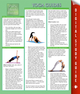 Yoga Guides: Yoga Tips and Techniques