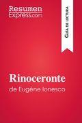 El rinoceronte de Eugène Ionesco (Guía de lectura)