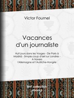 Vacances d'un journaliste