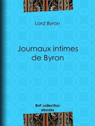 Journaux intimes de Byron