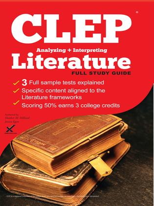 CLEP Analyzing and Interpreting Literature 2017