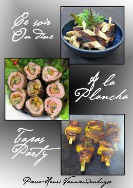 Ce soir on dine à la plancha : Tapas party