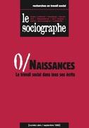 le Sociographe n°0 : Naissances. Le travail social dans tous ses écrits
