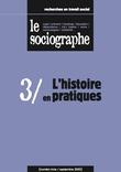 le Sociographe n°3 : L'histoire en pratiques