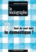 le Sociographe n°11 : Quoi de neuf dans le domestique