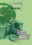 le Sociographe n°29 : Éducation à l'environnement et travail social, relations durables ?