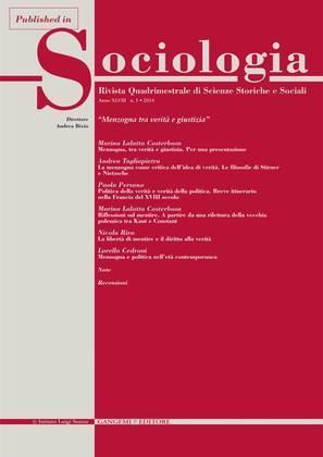 Struttura e forma sociale: un legame estetico
