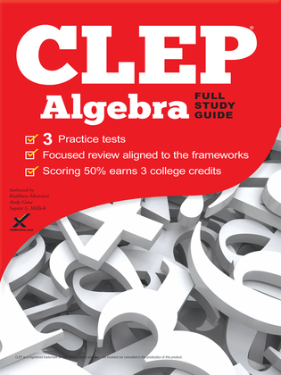 CLEP Algebra 2017