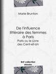 De l'influence littéraire des femmes à Paris
