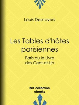 Les Tables d'hôtes parisiennes