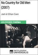 No Country for Old Men de Joel et Ethan Coen