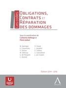 Obligations, contrats et réparation des dommages