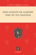 Don Guillén de Lampart, hijo de sus hazañas