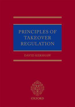 Principles of Takeover Regulation