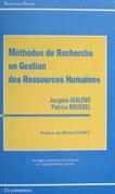 Méthodes de recherche en gestion des ressources humaines