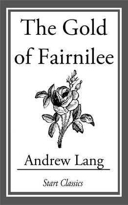 The Gold of Fairnilee