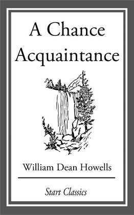 A Chance Acquaintance