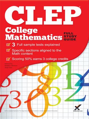 CLEP College Mathematics 2017