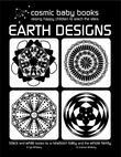 EARTH DESIGNS - Black and White Book for a Newborn Baby and the Whole Family