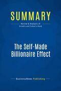 Summary: The Self-Made Billionaire Effect