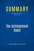 Summary: The Achievement Habit