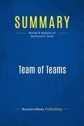Summary: Team of Teams