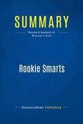 Summary: Rookie Smarts