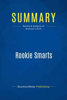 Summary: Rookie Smarts