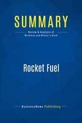Summary: Rocket Fuel