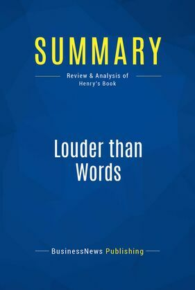 Summary: Louder than Words