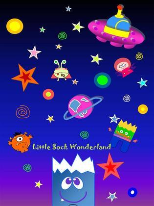 Little Sock in Wonderland