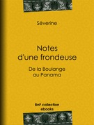 Notes d'une frondeuse