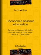 L'Économie politique et la justice