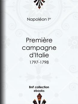 Première Campagne d'Italie