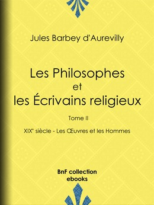 Les Philosophes et les Écrivains religieux