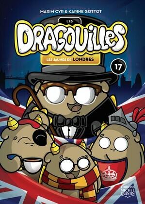 Les dragouilles 17 - Les jaunes de Londres