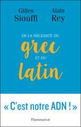 De la nécessité du grec et du latin