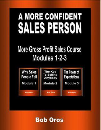 A More Confident Sales Person