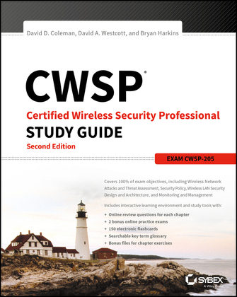 CWSP Certified Wireless Security Professional Study Guide